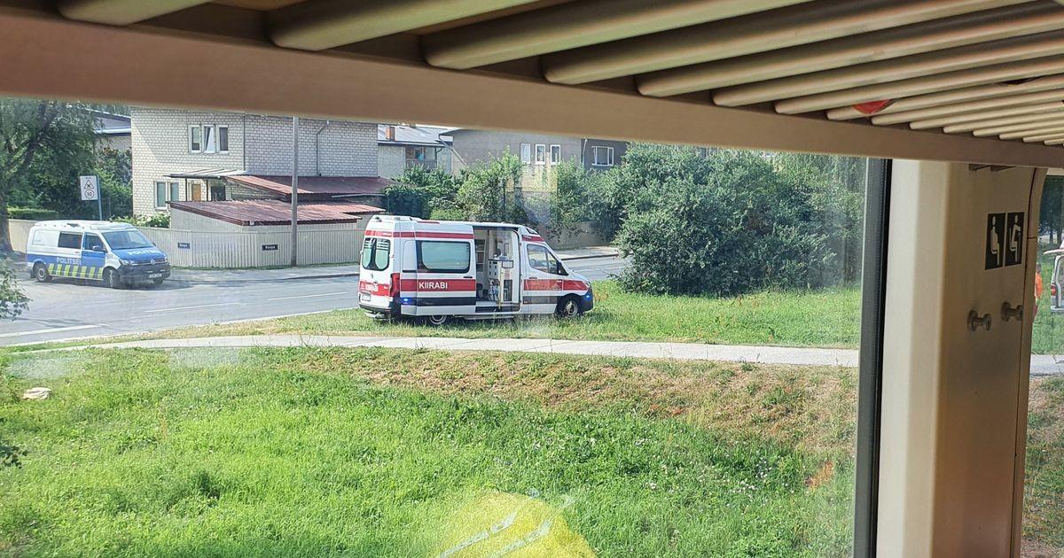 В Тарту погибла попавшая под поезд велосипедистка