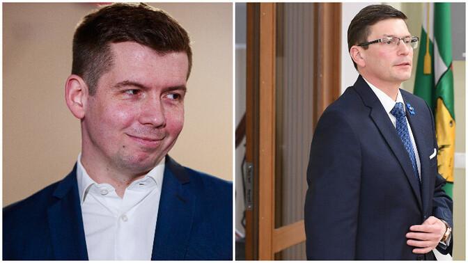 Репинский назвал ошибкой намерение Каура баллотироваться в Йыхви от избирательного союза