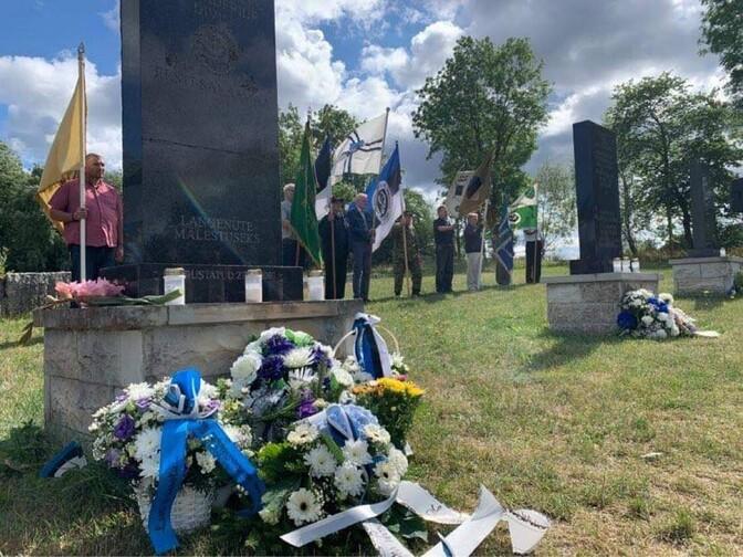 ФОТО: в Синимяэ почтили память погибших в боях 1944 года