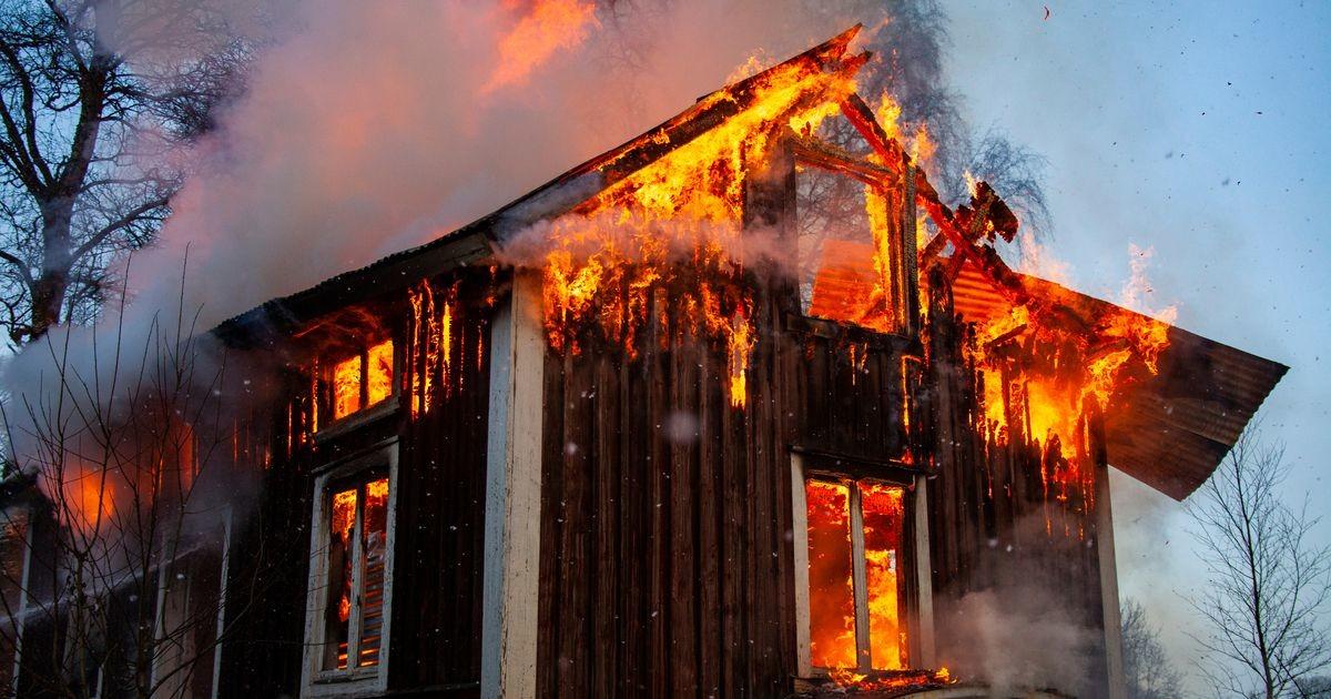 В Куусалу при пожаре погиб мужчина