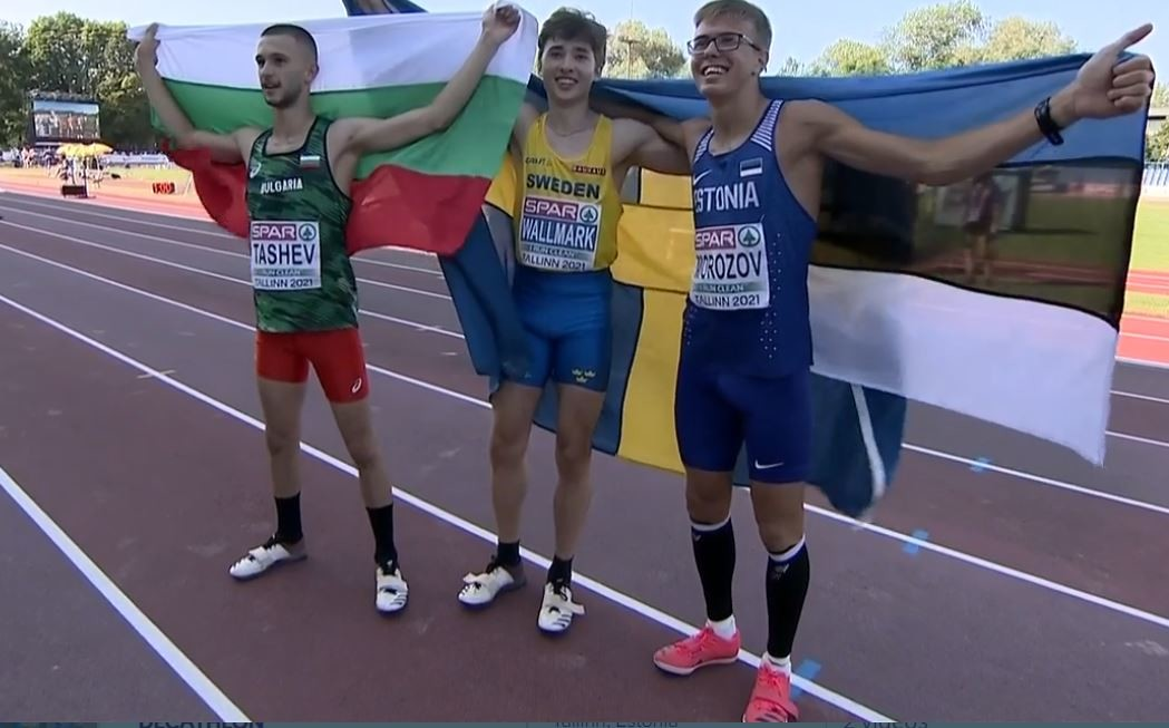 Виктор Морозов завоевал для Эстонии долгожданную медаль на домашнем чемпионате Европы