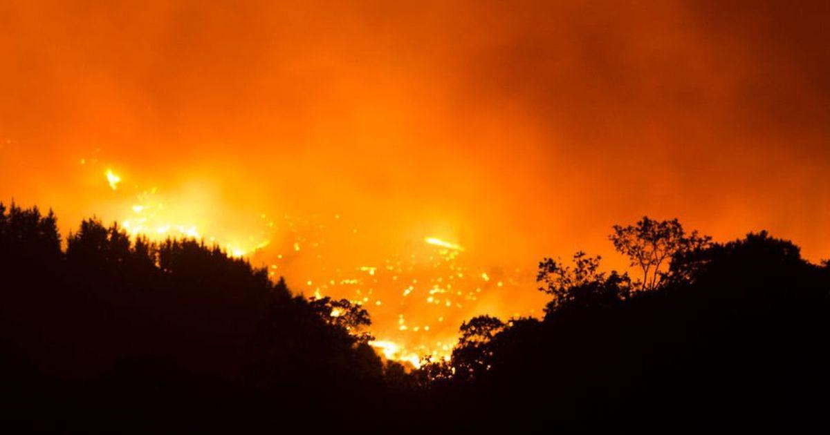 Пожары в Испании: тысячи эвакуированных, с огнем борются сотни пожарных