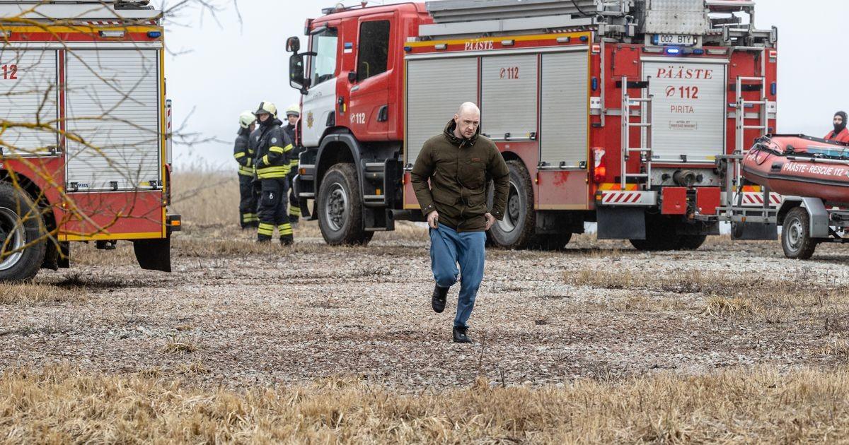 На берегу озера Юлемисте была развернута поисково-спасательная операция