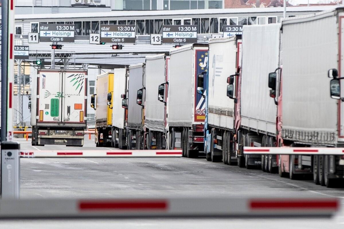 Европейский закон стоит на пути эстонских перевозчиков