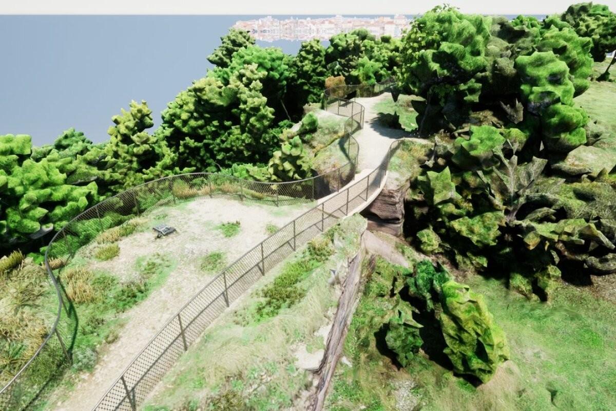 ФОТО | В Ласнамяэ на Паэвялья появится мост со смотровой платформой