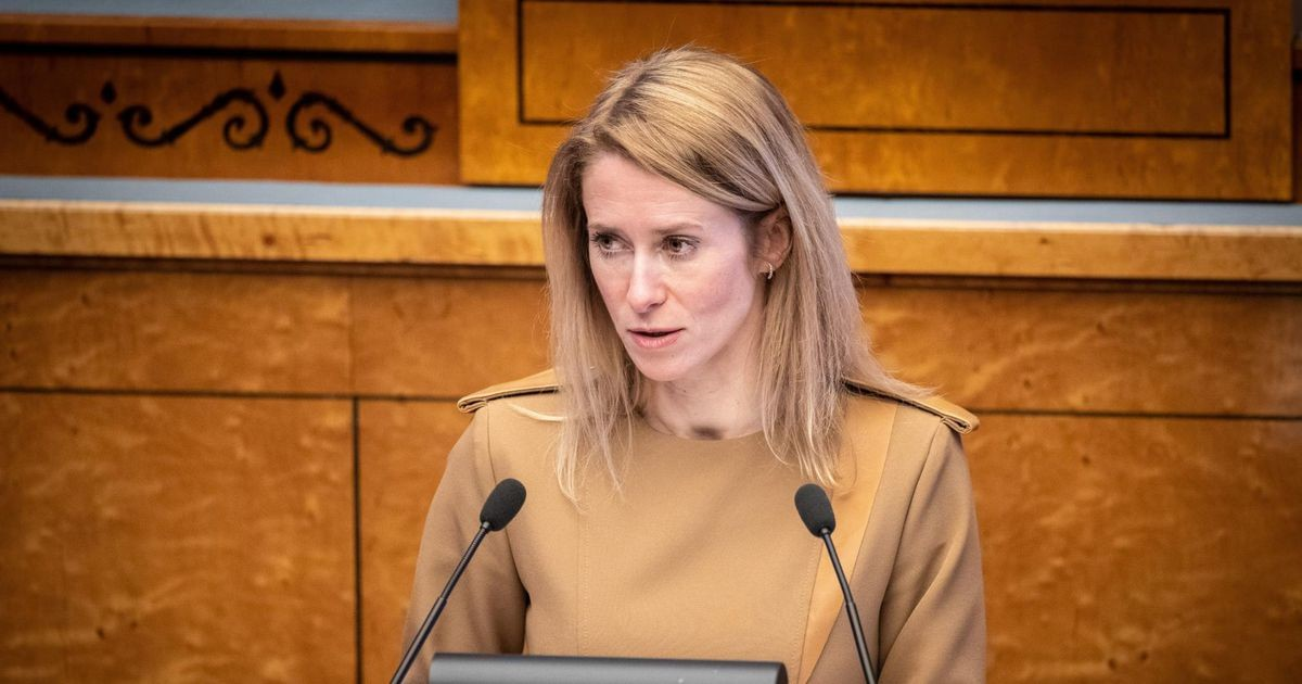 Кая Каллас выступит с политическим заявлением
