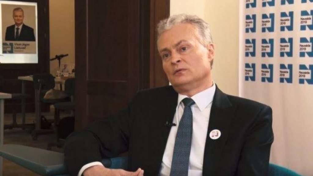 Гитанас Науседа обещает внимание к защите детей, если Литву изберут в Совет по правам человека