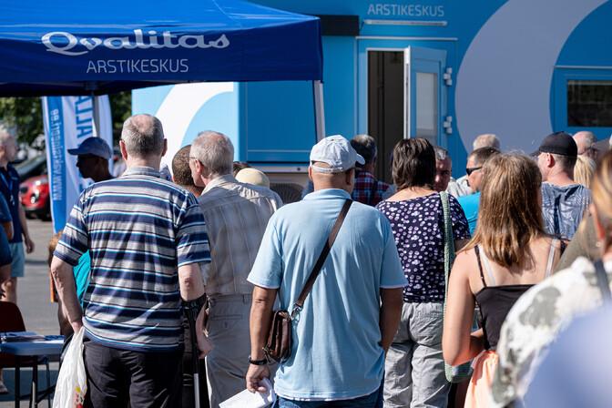 В Таллинне в воскресенье проходит день семейной вакцинации