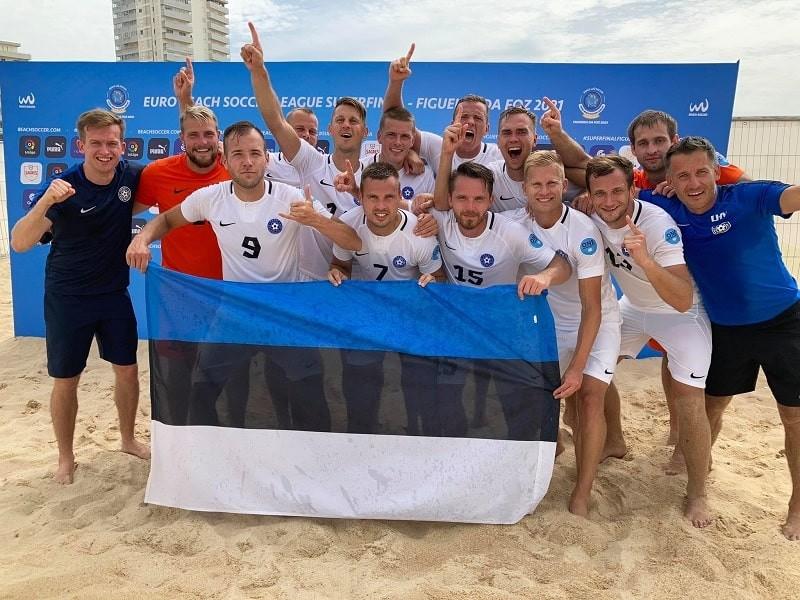 Наставник сборной Эстонии по пляжному футболу: Для нашей маленькой страны это огромный успех