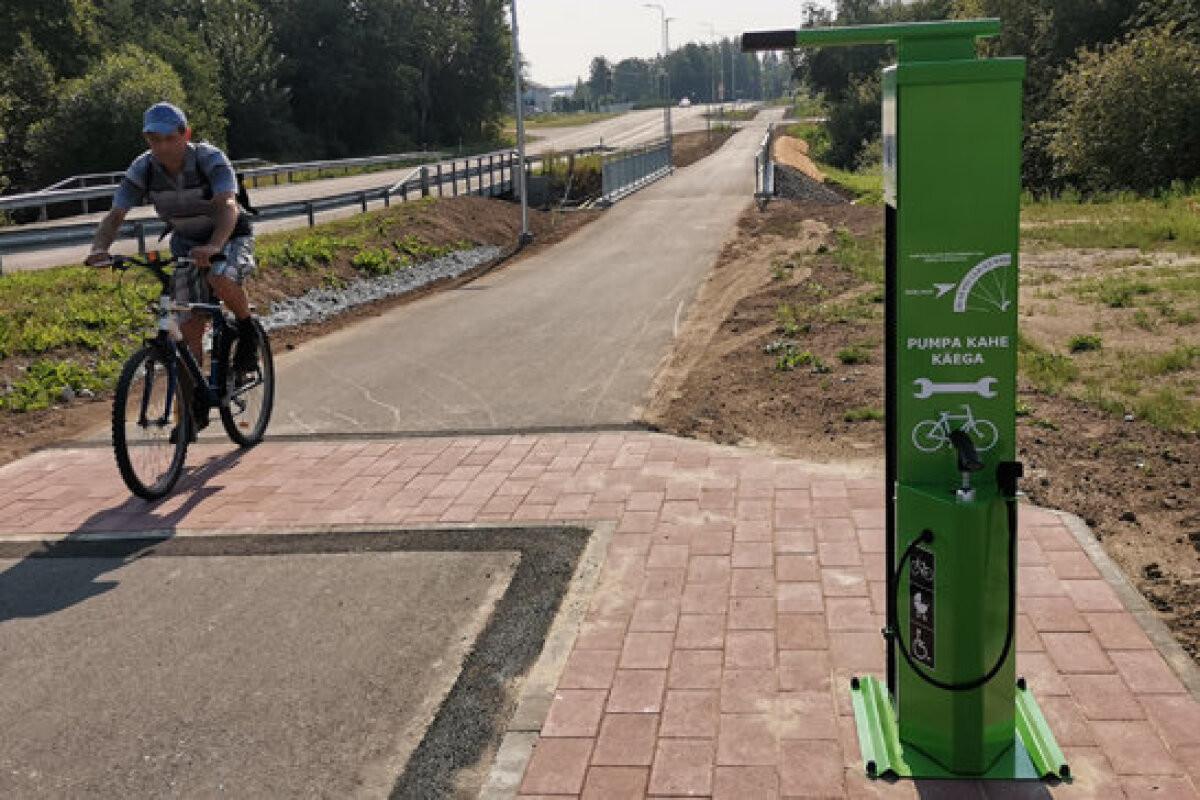 Велодорожка Нарва — Нарва-Йыэсуу вызвала споры у велосипедистов
