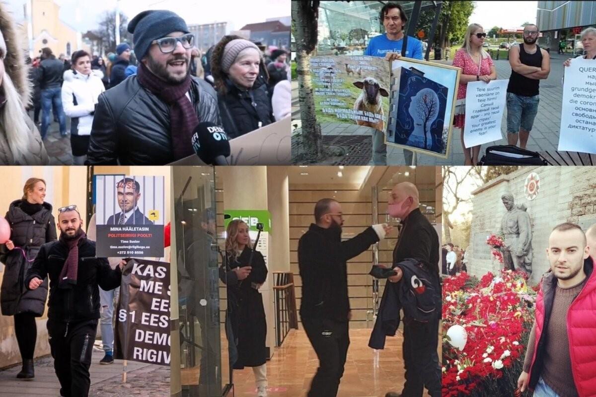 Местные русские пропагандисты выстроили в Эстонии целую инфраструктуру для усиления протестов против коронавирусных ограничений