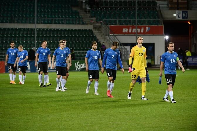 Сборная Эстонии по футболу опустилась на 116-е место в рейтинге ФИФА