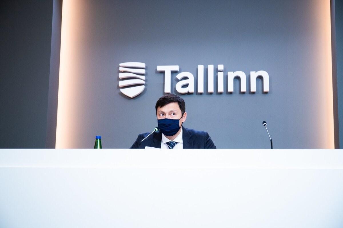 ПРЯМАЯ ТРАНСЛЯЦИЯ | Пресс-конференция Таллиннской горуправы
