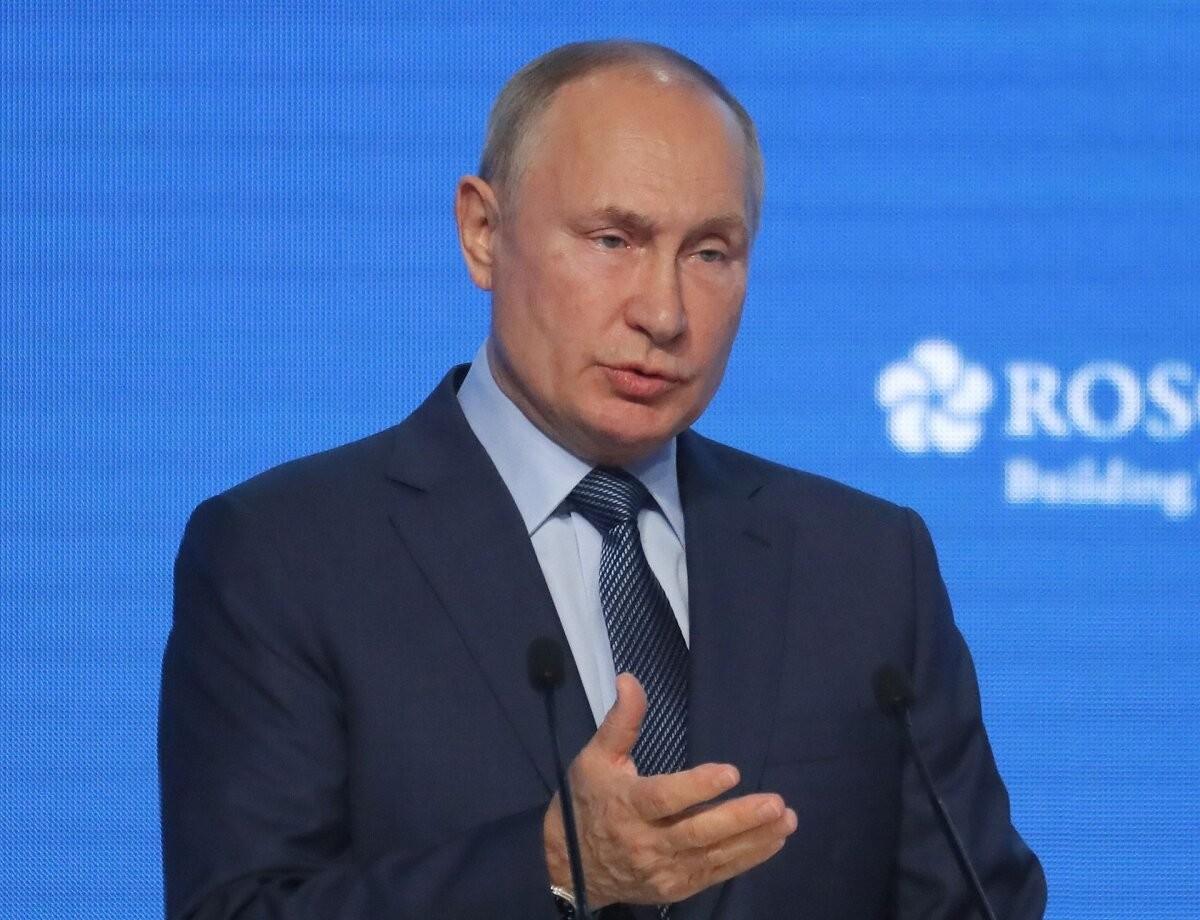 Путин: рост цен на газ в Европе вызван дефицитом электроэнергии
