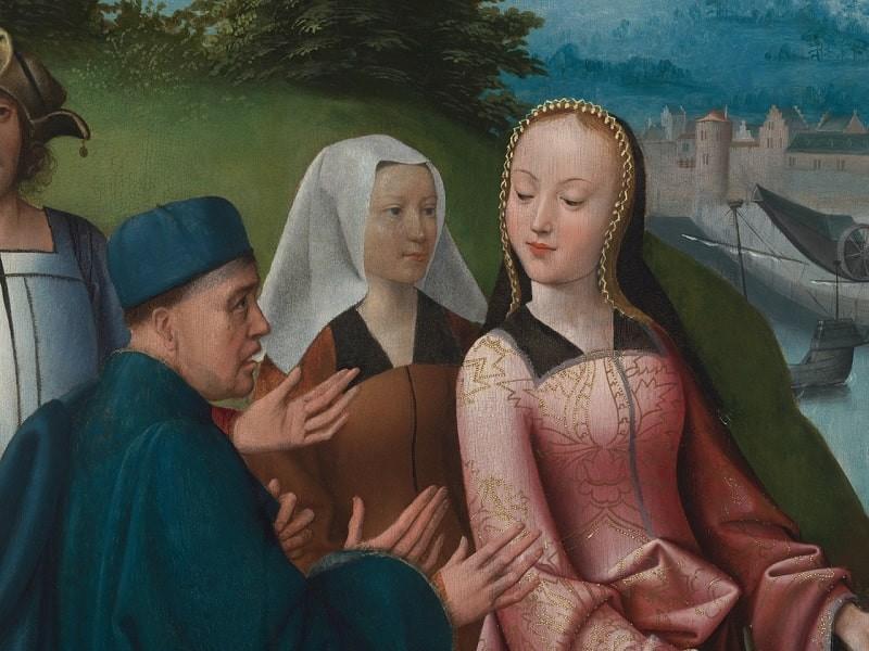 История девы, которая свела с ума жителей средневекового города