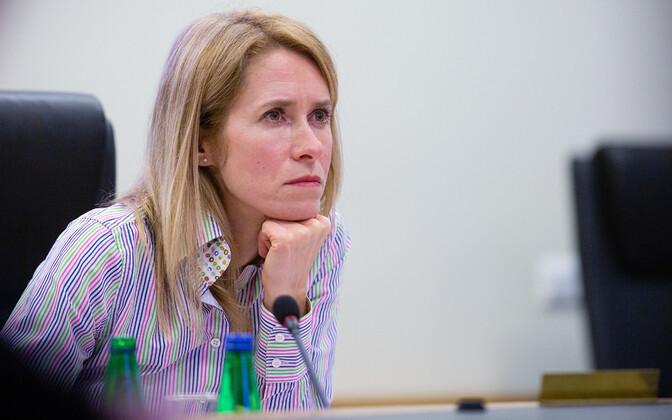 Кая Каллас призвала жителей Эстонии оставаться дома и напомнила про штрафы