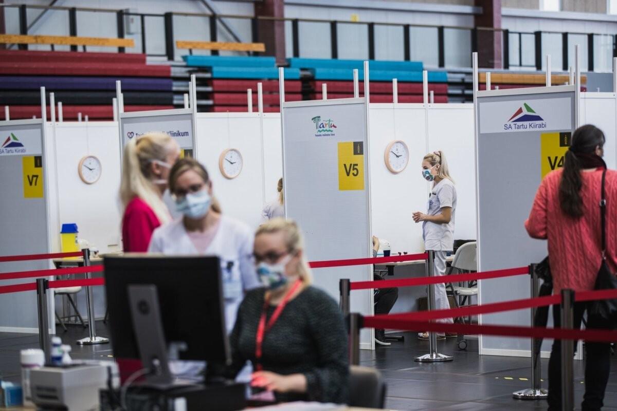 В воскресенье таллиннцев приглашают на вакцинацию всей семьей
