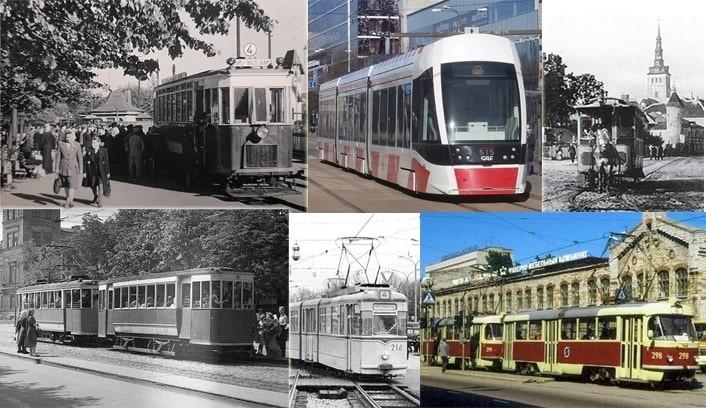 Трамваи Таллинна — от конки на парк Екатериненталь до CAF к аэропорту
