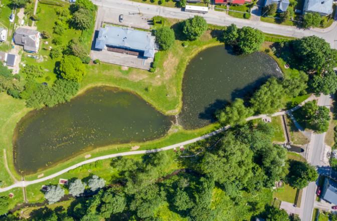 ФОТО: в Раквере появятся первые в Эстонии плавучие острова, очищающие от загрязнения