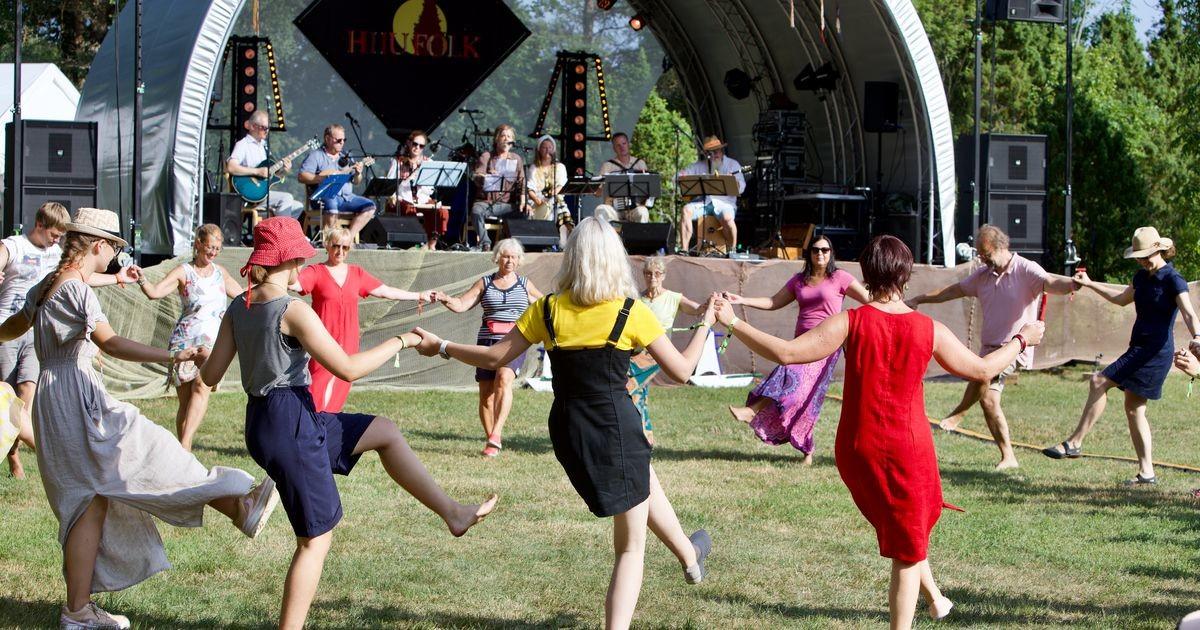 Второй день праздника Hiiu Folk собрал самые топовые коллективы Эстонии