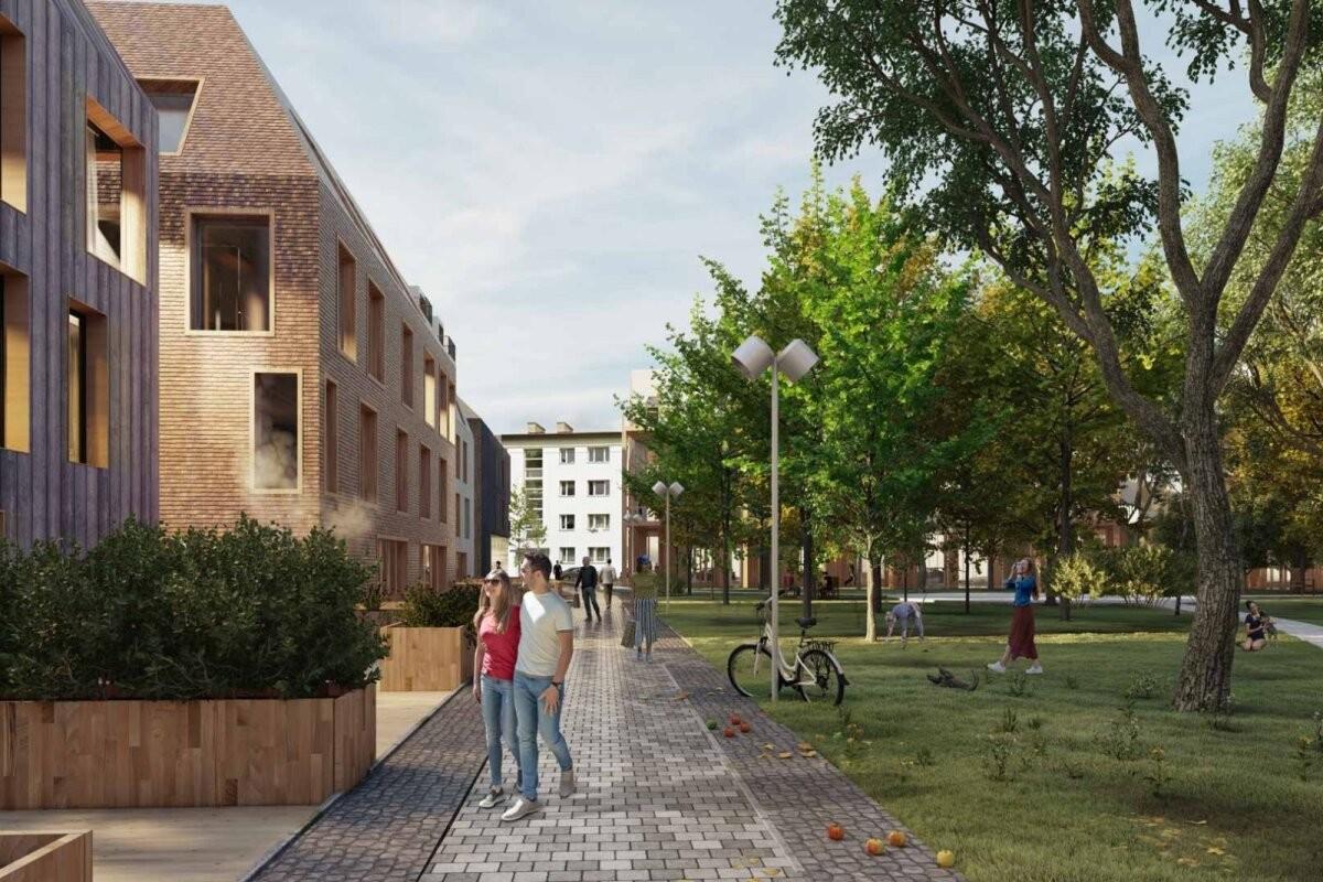 ФОТО   На месте Дома мебели в Таллинне планируют построить деловой и жилой квартал