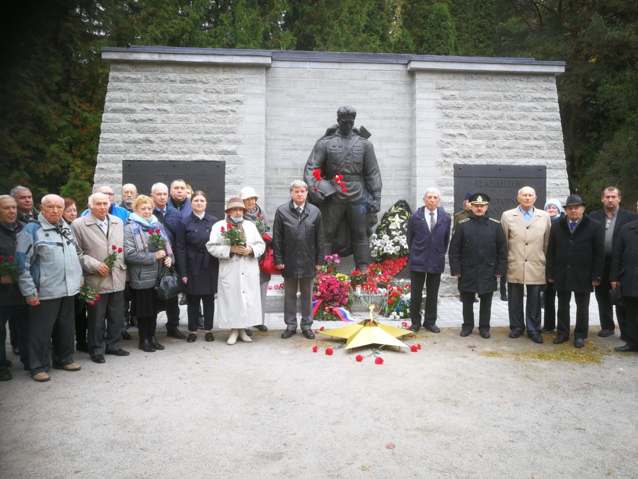 Российские соотечественники в Эстонии отметили День освобождения Таллина  (фоторепортаж)