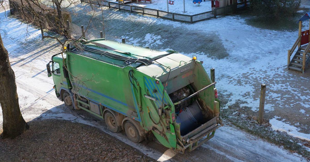 В Ласнамяэ и Пыхья-Таллинне временно меняется график вывоза мусора