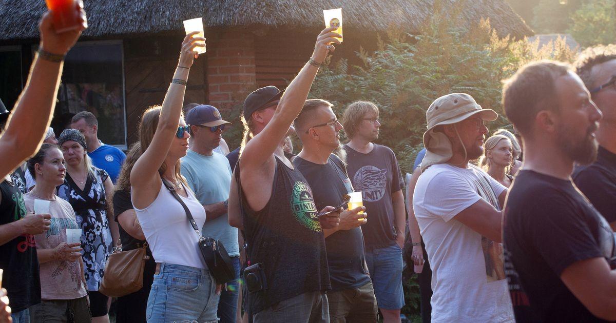 Галерея: народ отдыхает на пивном фестивале в Кяблику