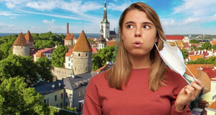 В Эстонии вакцинированным могут разрешить не носить маски