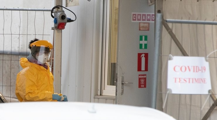 За сутки в Эстонии выявлено 829 случаев заражения коронавирусом, умерли пять человек