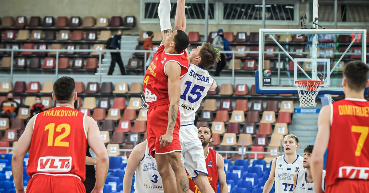 Сборная Эстонии по баскетболу проиграла Северной Македонии, но вышла на чемпионат Европы!