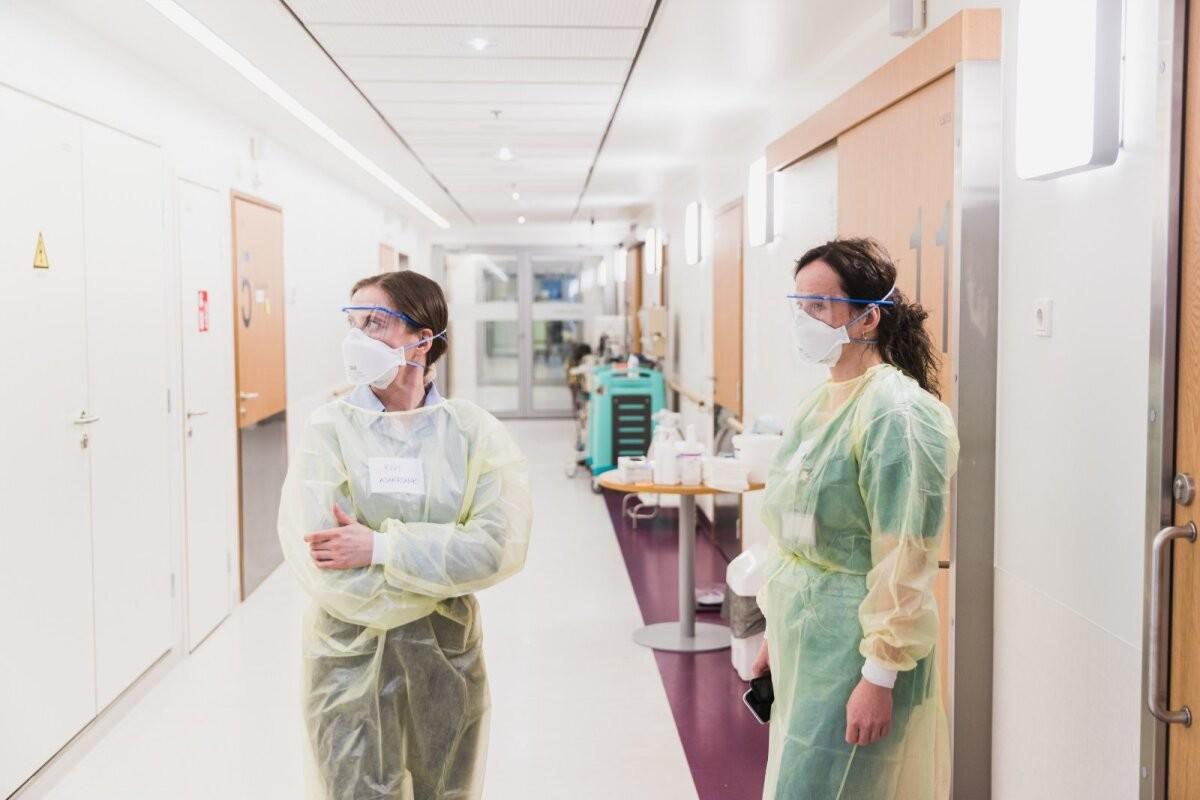Департамент здоровья: 333 положительных тестов, в больницах 447 пациентов с коронавирусом
