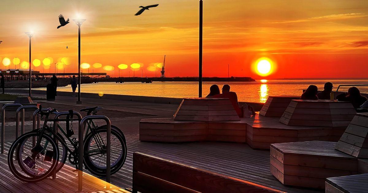 Готовы жариться на солнышке? На следующей неделе в Эстонию придет лето!