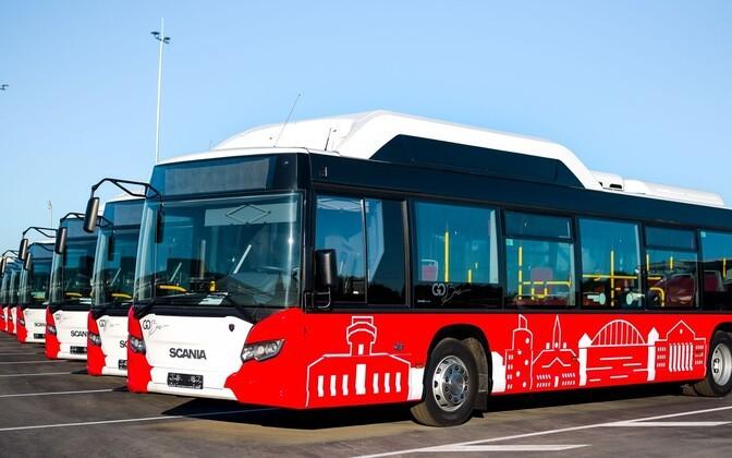 В Тарту подумывают перевести все автобусы на водородное топливо