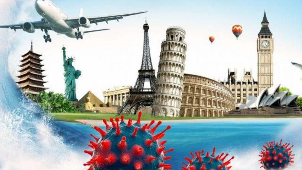 В прошлом году количество поездок латвийцев за границу уменьшилось на 71,1%