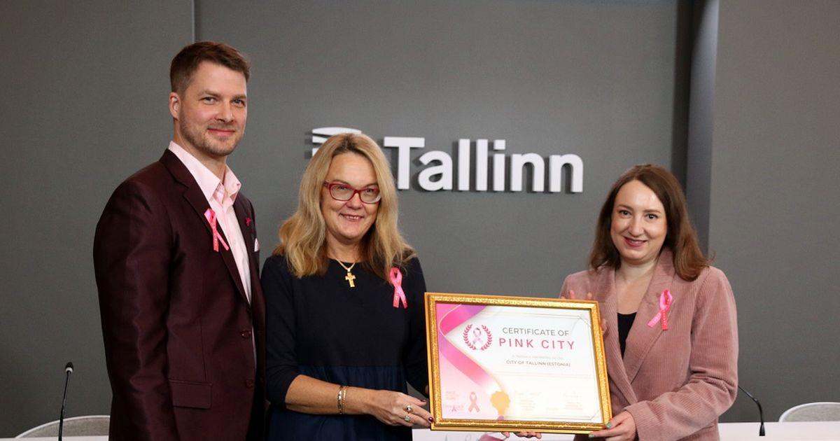 Таллинн удостоился титула Pink City