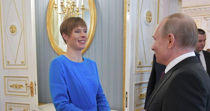 Президент России поздравил Эстонию с Днем независимости