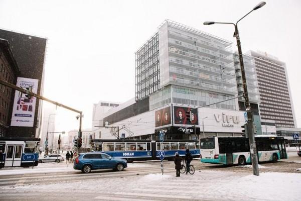 Таллиннские автобусы пустили по свободному графику из-за обледения дорог