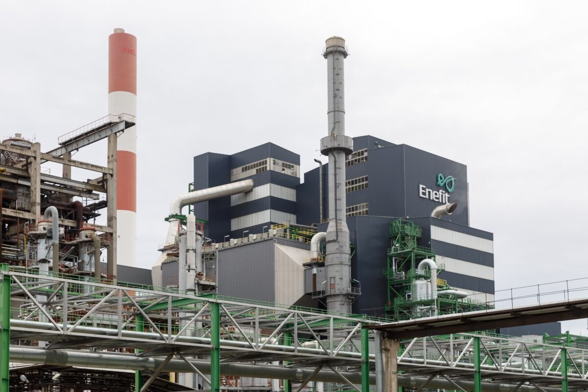 Рост цен на электроэнергию заставил нарвские электростанции работать на полную мощность