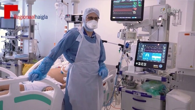 Рекордная загруженность больниц может снизиться только в ближайшие недели
