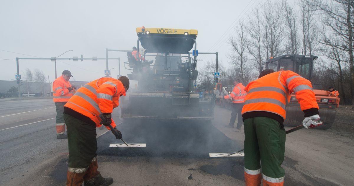 В Таллинне после продолжительного ремонта открылась улица Поска