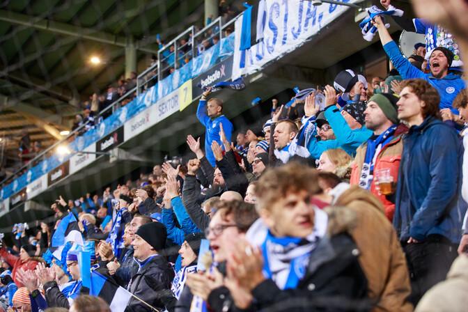 Правительство: 1000 человек могут посетить футбольный матч Эстония – Латвия