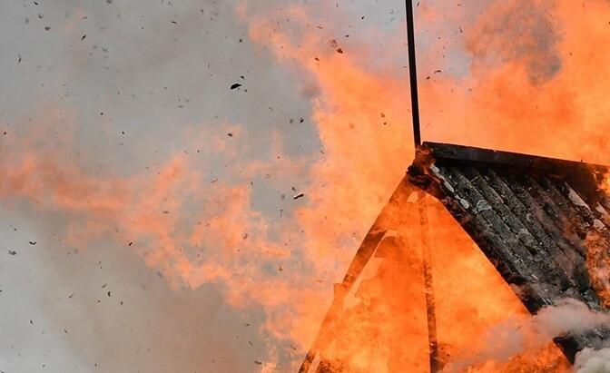 В Кивиыли при пожаре погиб человек