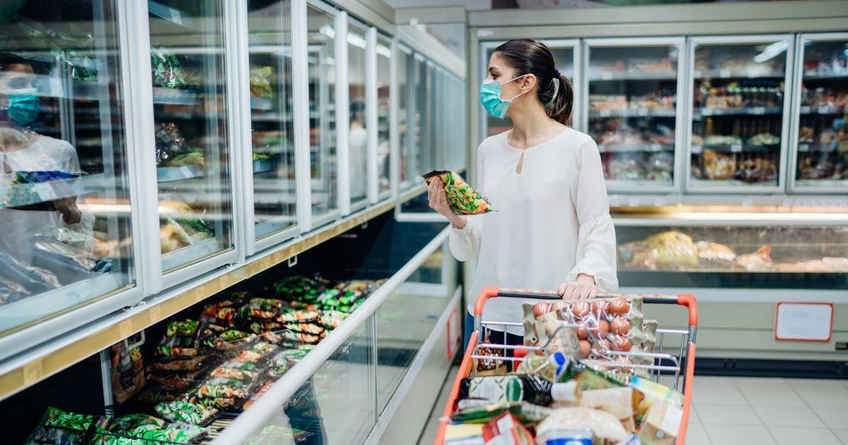 Коронавирус впервые обнаружили на упаковке замороженных продуктов