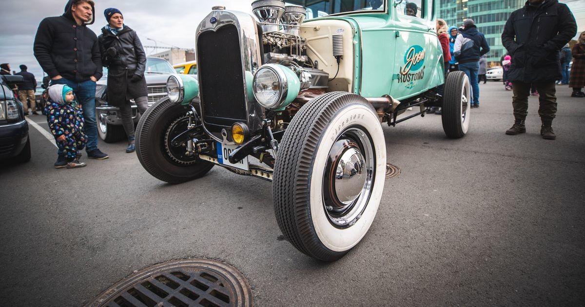 Галерея: в Теллискиви показали необычные автомобили