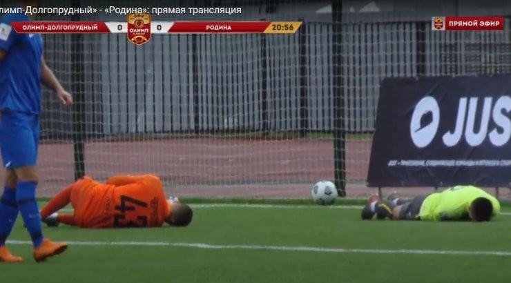 Сына Станислава Черчесова ударили коленом в голову