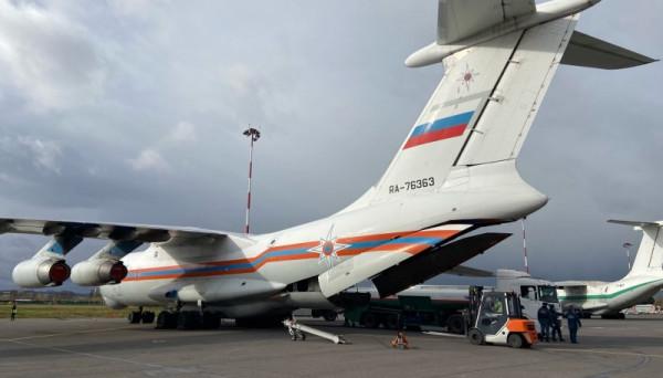 Россия отправила гуманитарную помощь в Анголу и Кабо-Верде
