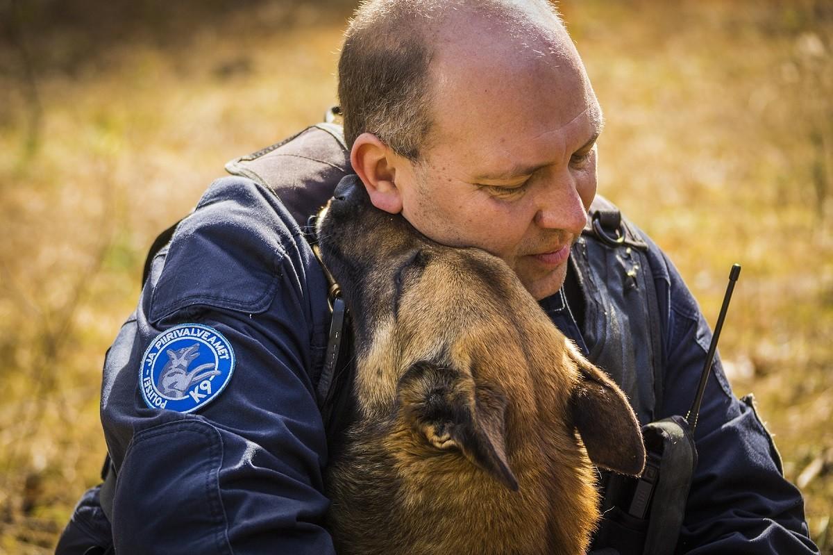 Служебные собаки Департамента полиции и погранохраны помогли найти почти полсотни человек