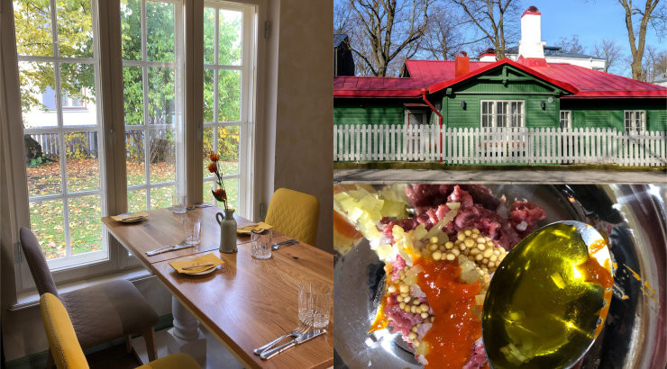 ФОТО   Ресторан Mantel & Korsten в Кадриорге — закрылся сразу после открытия, но теперь снова радует изысканной кухней