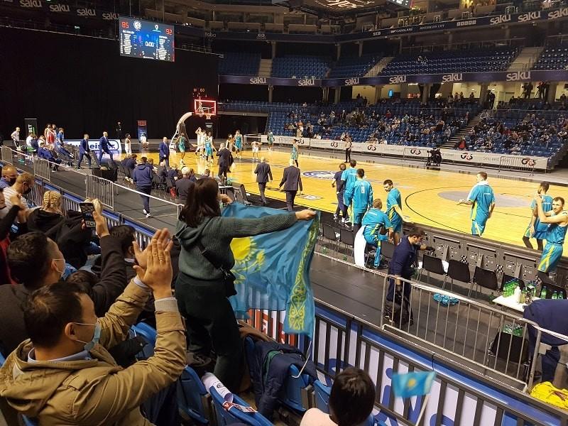 Баскетболисты эстонского «Калева» порадовали болельщиков… пока казахских